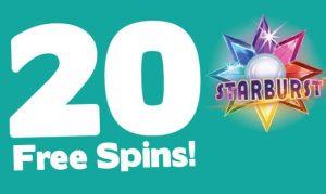 Free spins gratis starburst